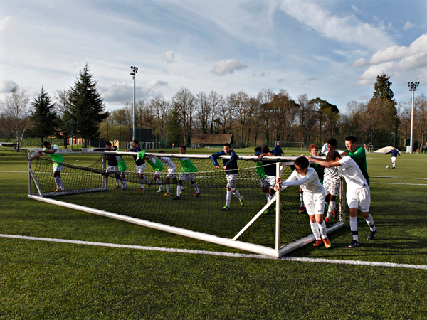 L'Institut National du Football de Clairefontaine. Promotion 98